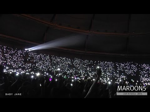 MAROON 5 -  PAYPHONE @ Live in SEOUL, 2015 (0909)