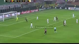 Download Video Μίλαν - ΑΕΚ 0-0 Highlights (EL) {19.10.2017} MP3 3GP MP4