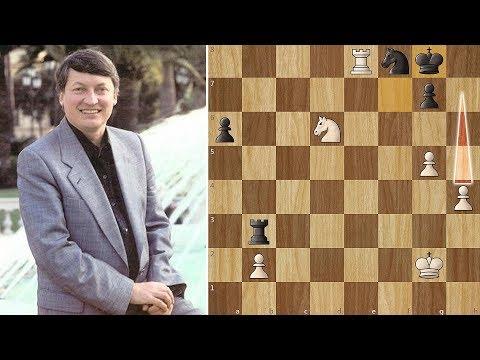 Karpov is too Strong for young Vladimir Kramnik - Linares (1994)