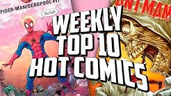 Hot Top 10 Comic Books On The Rise - APRIL (Week 1) 2019