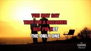 Imagine : Eva Cassidy   Karaoke with Lyrics
