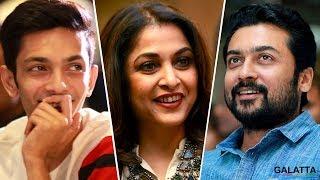 Candid Moments of Suriya, Anirudh and Vignesh ShivN - Thaanaa Serndha Koottam Success Meet