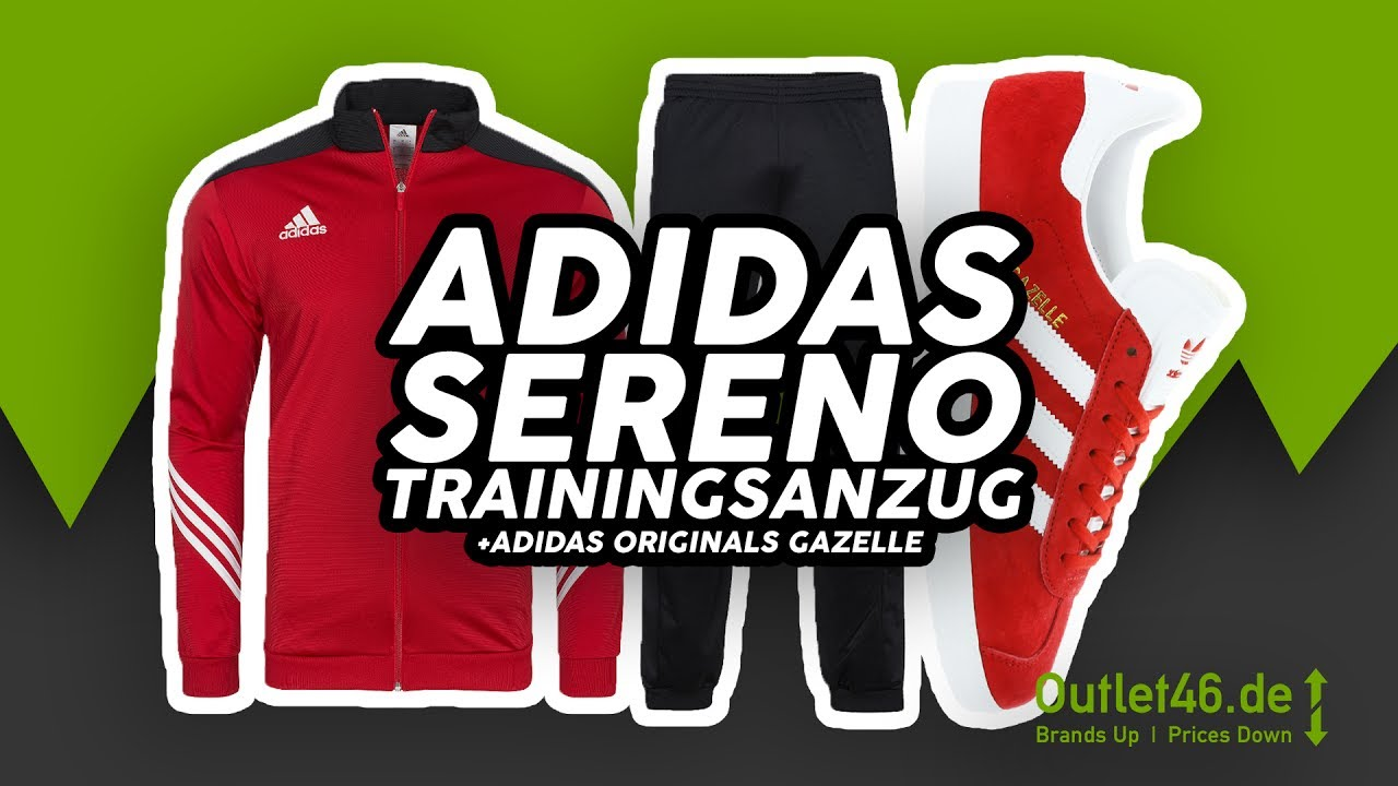 adidas sereno 14 trainingsanzug adidas originals gazelle. Black Bedroom Furniture Sets. Home Design Ideas