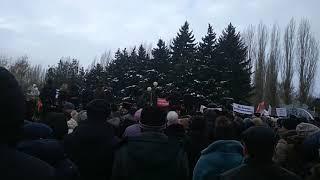 Митинг в Аксае, Мы против присоединения к г. Ростов-на-Дону
