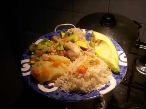 Comidas y almuerzos alo colombiana youtube for Ideas de almuerzos caseros
