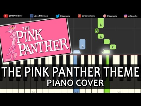 Pink Panther Theme Song Henry Mancinipiano Chord Tutorial Lesson