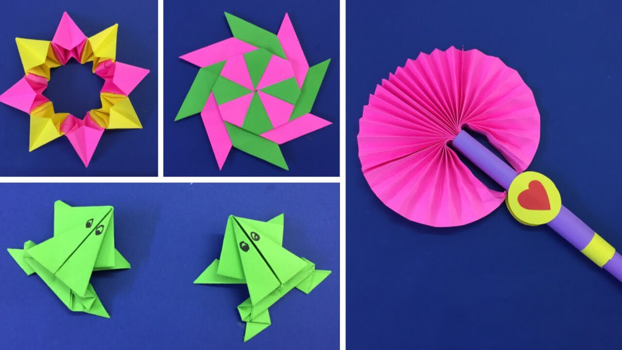 20 Awesome Paper Craft Ideas   Summer Craft Ideas for kids