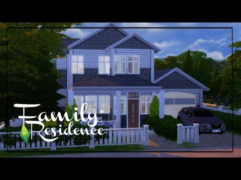 Sims 4 Speed Build || Family Residence