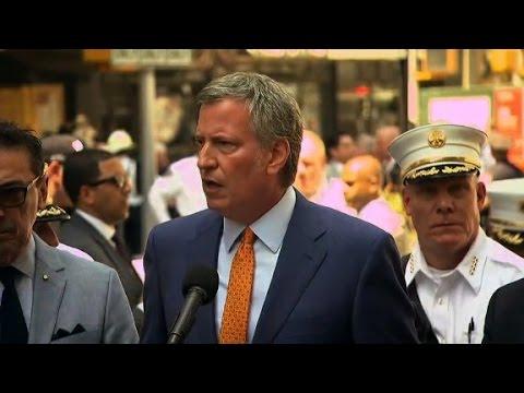 Mayor de Blasio: This was not act of terrorism