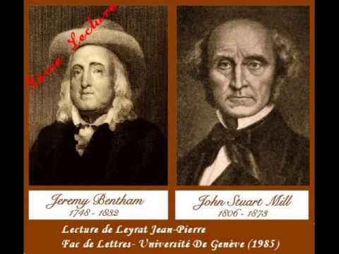 Jeremy Bentham, John Stuart Mill- L'Utilitarisme Chapitre 3 (Cours)