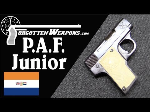 P A F  Junior - South Africa's First Production Gun