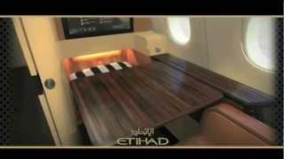 Etihad Airways: On Board Cabin Tour
