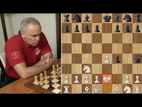 Kasparov Shocks Karjakin with King's Gambit!