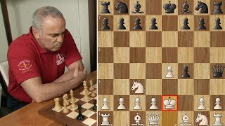Kasparov Shocks Karjakin with King's Gambit!