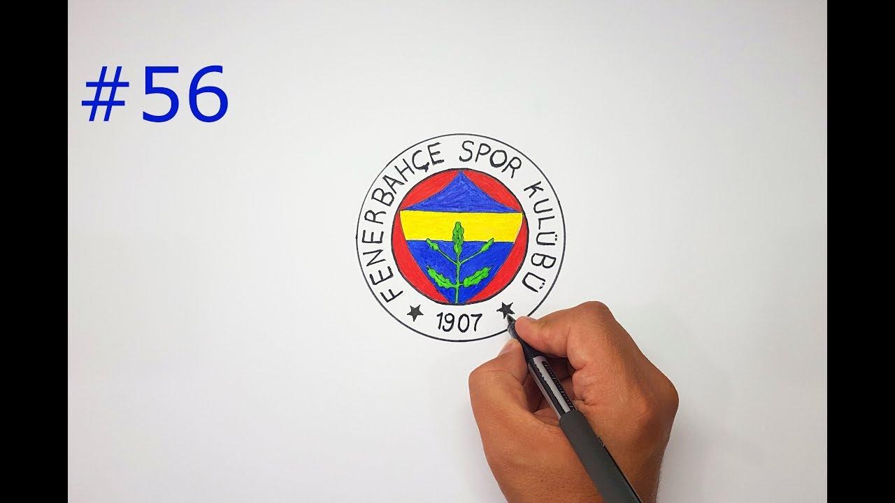 Fenerbahce Fb Logo Cizimi Nasil Yapilir Fb Logo Drawing 56