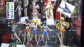 Bluefin Toys Reveal Sailor Moon | Pullip | Gundam Converge | Dragon Ball Z Toy Fair 2015