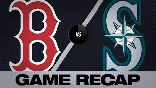 3/28/19: Mariners smack 5 homers in rout of Red Sox