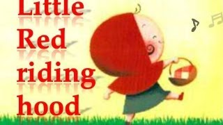 Fairy tale: Little red riding hood (with subtitles)
