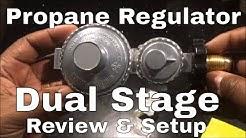 Propane Regulator Dual Stage Model Number 9398