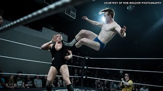 Jack Gallagher vs. Pete Dunne - Cruiserweight Classic Qualifying Match