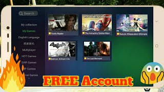 Get Free Gloud Games Account!  Play Unlimited Time Your Favourite Games For Free On Android!