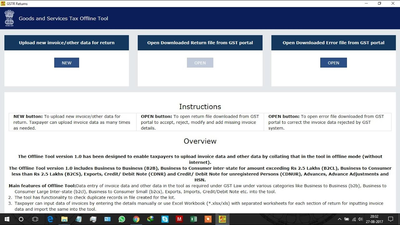 How to Generate GSTR 1 in GST Offline Tool