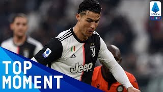 Ronaldo makes history as Juventus go top | Juventus 3-1 Udinese | Top Moment | Serie A TIM