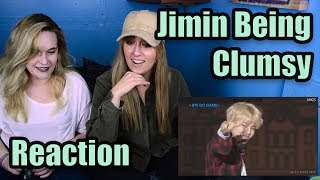 Jimin Being Clumsy (Reaction)