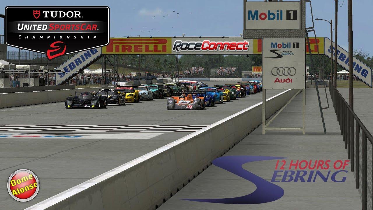 2014 Tudor United SportsCar Challenge   12h Sebring   First 30min  [Raceconnect]