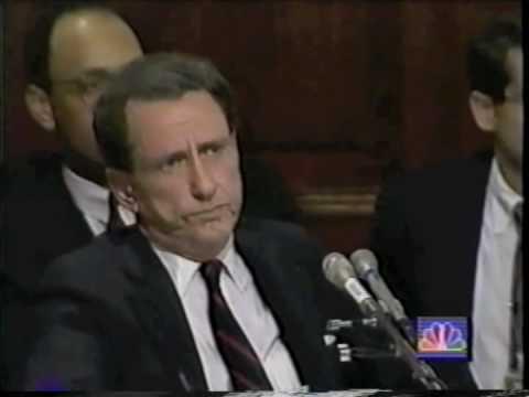 Arlen Specter Interrogates Anita Hill