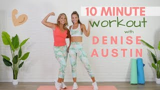 10 MINUTE TOTAL BODY Workout with Denise Austin