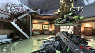 30 vs 60 FPS - Call of Duty: Advanced Warfare
