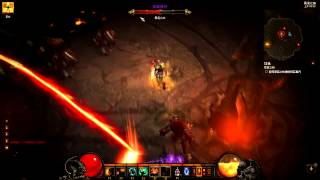 《暗黑破壞神 3》第三章BOSS-阿茲莫丹攻略影片 - 遊戲基地