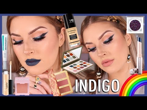 Smokey INDIGO Makeup 🌀🌈 Rainbow Series 🗯️ CCGRWM thumbnail