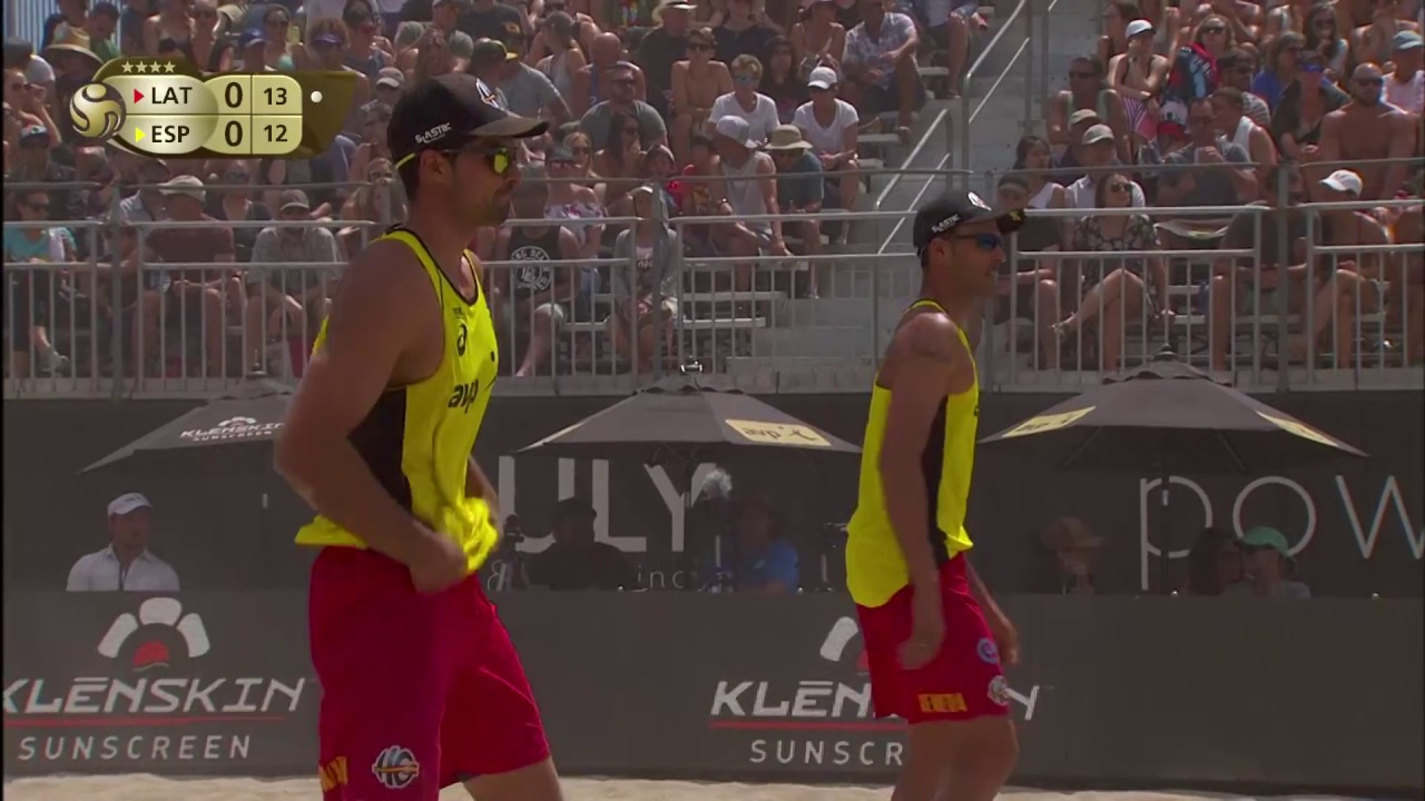 2018 FIVB Huntington Beach Open: Samoilovs/Smedins vs ...
