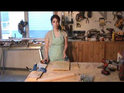 raised panel doors kreg jig screws ana white.wmv - YouTube