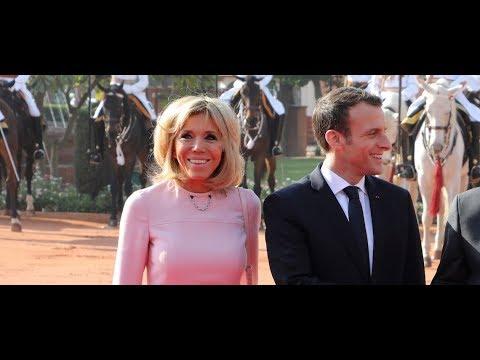 Emmanuel et Brigitte Macron, leur photo en amoureux devant le Taj Mahal