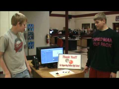 Brillion High School's Arcade System using MITs Scratch