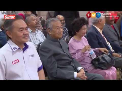 Dr M muncul mengejut di wacana bincang isu pemimpin tua