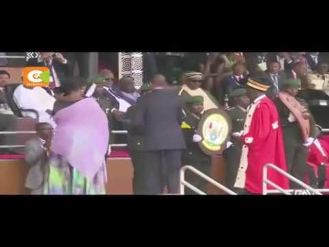 Rwanda President Paul Kagame takes oath of office