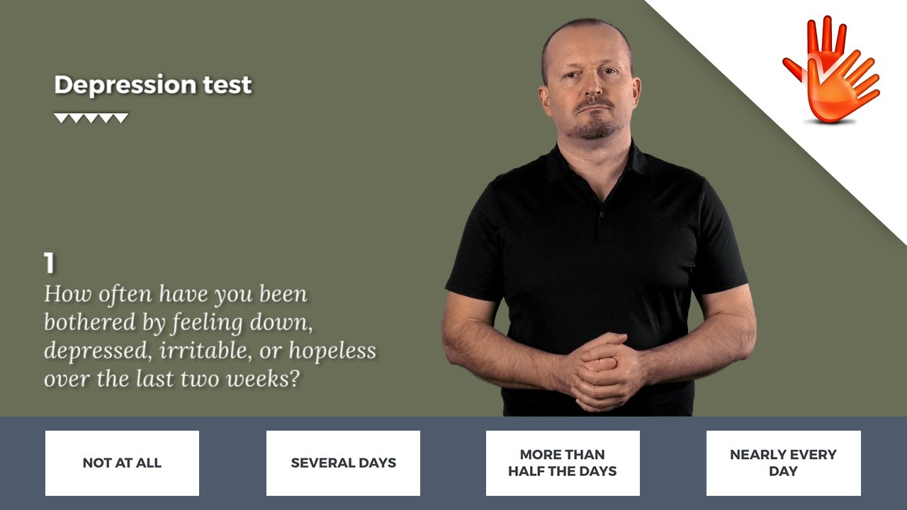 Depression test | Depression and Anxiety
