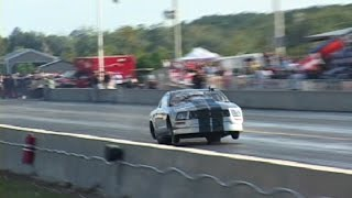 EVIL TWIN TURBO MUSTANG - 179 mph on BACK TIRES!