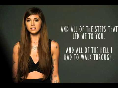 The Words (Lyric Video) - Christina Perri