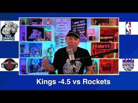 Sacramento Kings vs Houston Rockets 3/11/21 Free NBA Pick and Prediction NBA Betting Tips