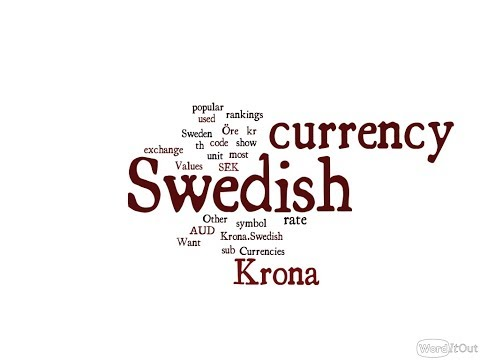 Swedish Currency - Krona