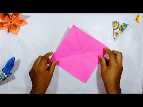 Origami Ice-cream    Paper Ice cream    DIY