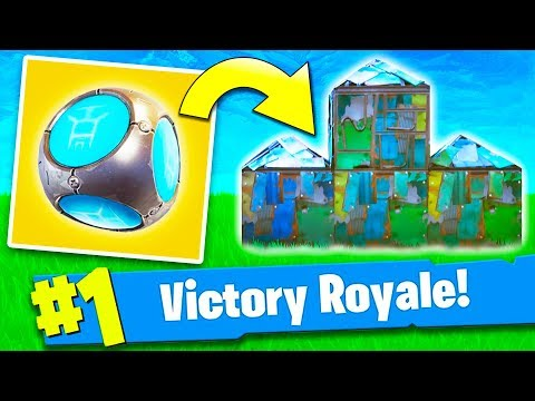 *NEW* PORT-A-FORT VICTORY ROYALE! (Fortnite)
