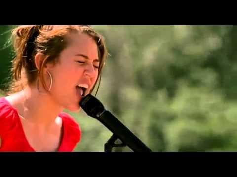 Hannah Montana Miley musik video   The Climb