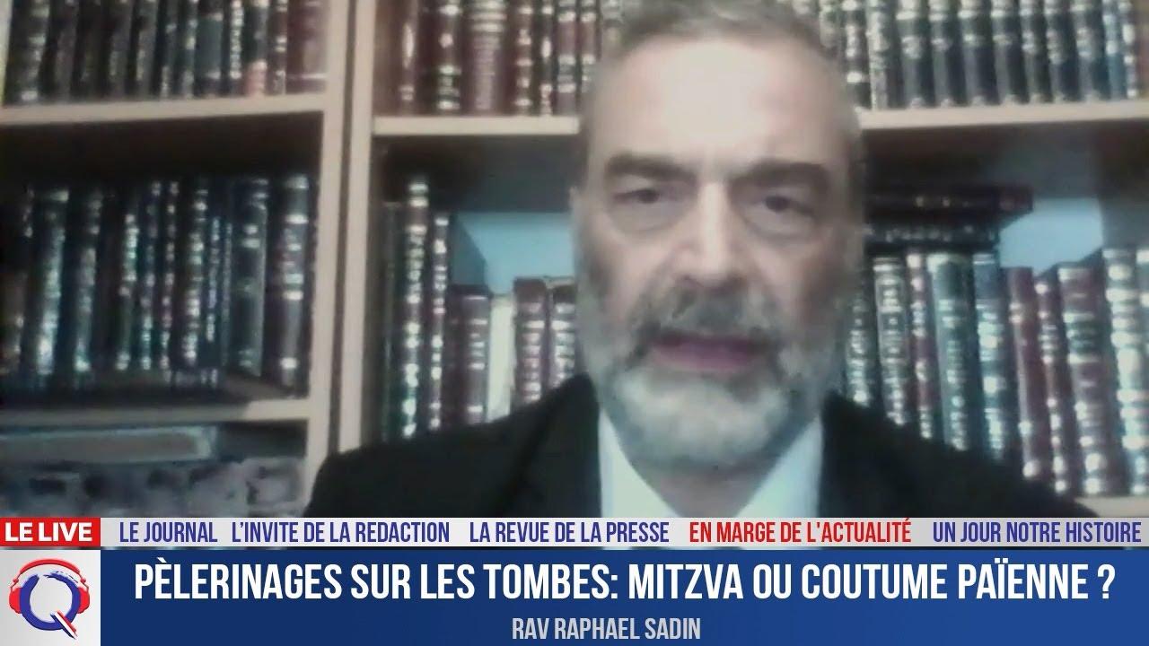Pèlerinages sur les tombes: mitzva ou coutume païenne ? - En marge de l'actualité du 21 octobre 2021