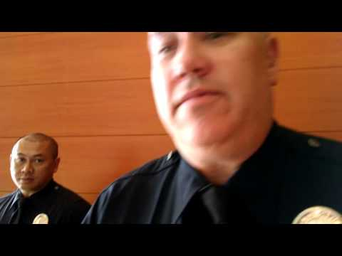 Jasmine Richards Kicked out of LAPD Police Commission Meeting